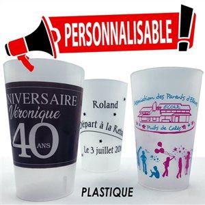 Gobelet réutilisable 30 cl (25 cl utiles)