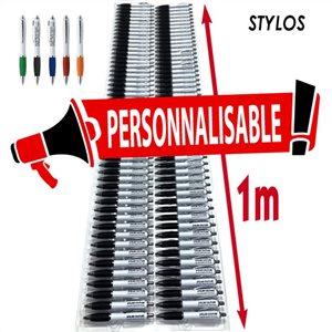 Le mètre de stylos
