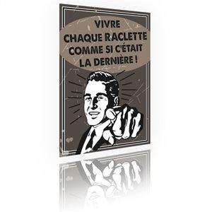 Panneau Raclette