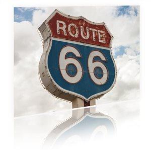 Panneau Route 66