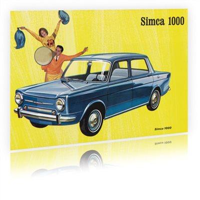 Panneau Déco Simca 1000
